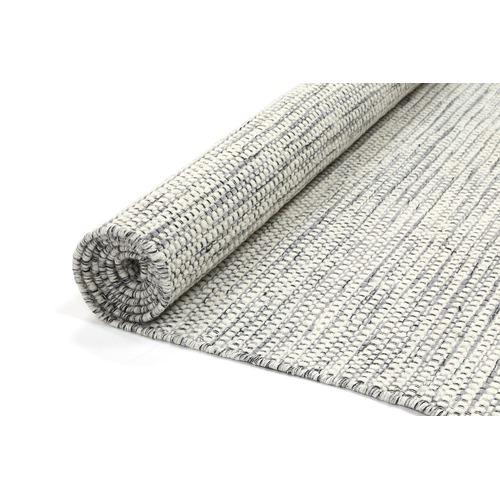 Grey Nordic Reversible Wool Rug