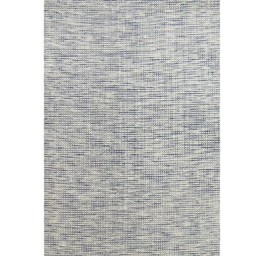 Blue Nordic Reversible Wool Rug