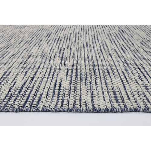 Lifestyle Floors Blue Skandi Reversible Wool Rug