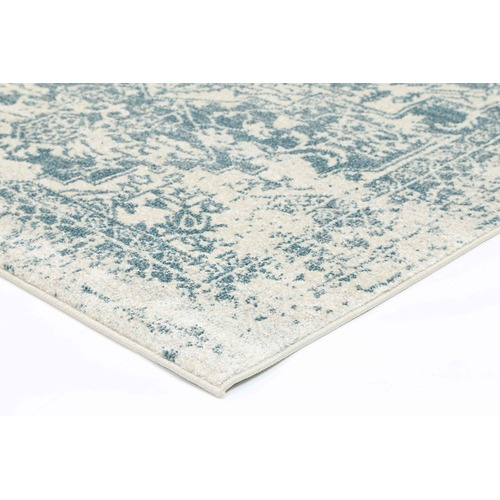 Lifestyle Floors Turquoise Modern Notes Rug