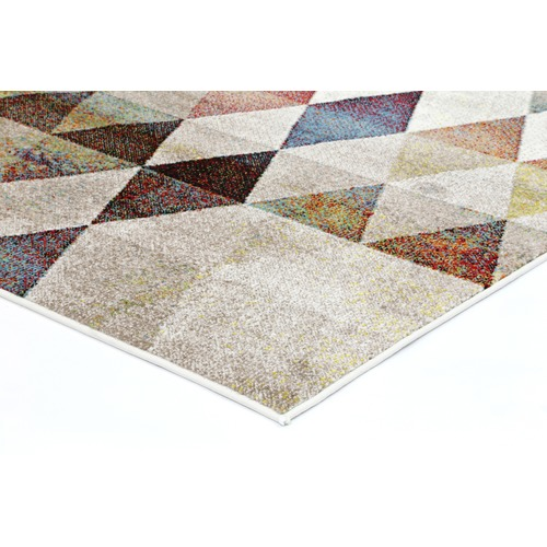 Lifestyle Floors Tribal Diamond Power Loomed Rug