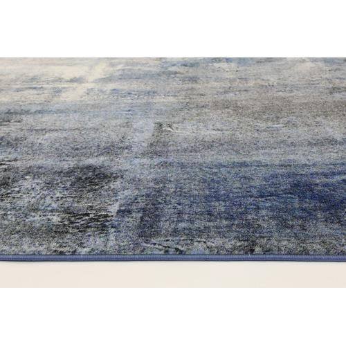 Lifestyle Floors Blue Monet Power Loomed Rug