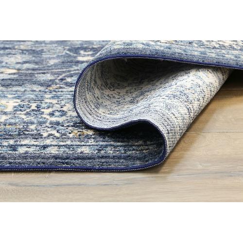 Lifestyle Floors Navy Atlas Vintage-Style Rug