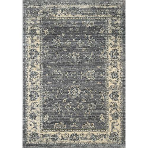 Lifestyle Floors Grey Atlas Vintage-Style Rug