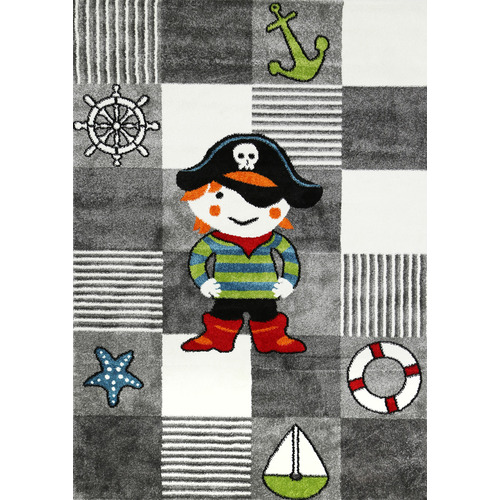 Lifestyle Floors Happy Kids Pirate Rug