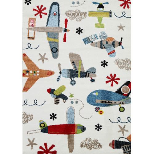 Lifestyle Floors Happy Kids Planes Rug