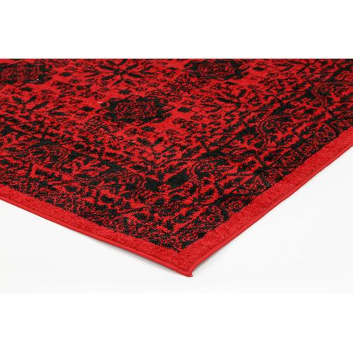 Lifestyle Floors Red & Black Tribute Oriental Rug