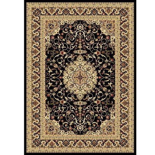 Lifestyle Floors Cream & Black Julianne Classic Rug