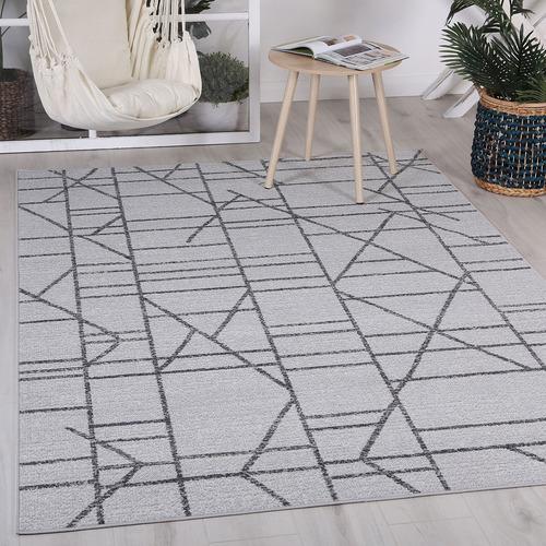 Lifestyle Floors Charcoal Clover Copenhagen Rug