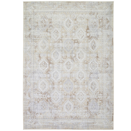 Lifestyle Floors Beige Clover Heart Rug