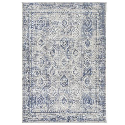 Lifestyle Floors Blue Clover Heart Rug