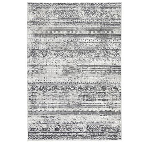 Lifestyle Floors Grey Clover Rome Rug
