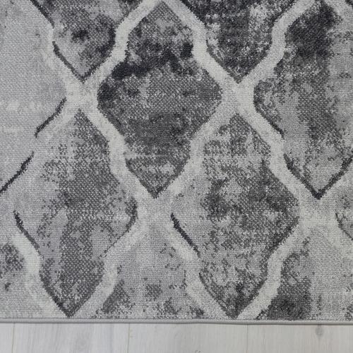 Lifestyle Floors Grey Clover Trellis Rug