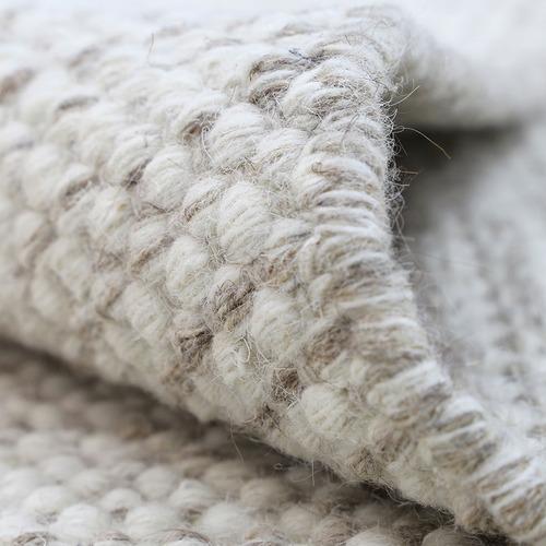Lifestyle Floors Ivory Skandi Hand Woven Wool-Blend Runner