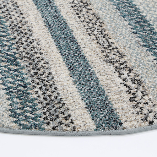 Lifestyle Floors Blue Simone XII Round Rug