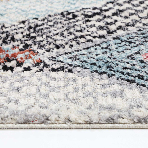 Lifestyle Floors Multi-Coloured Marrakesh Boho Moroccan Rug