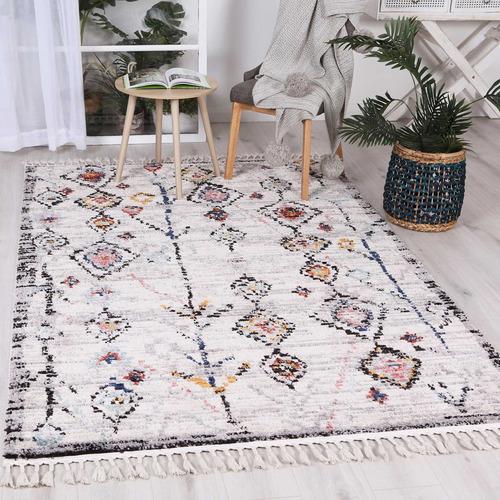Multi Colour Taza Boho Moroccan Rug
