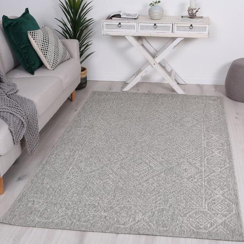 Lifestyle Floors Grey Polo Jerilyn Patio Rug