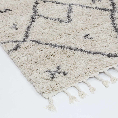 Lifestyle Floors Cream & Grey Tribal Kasper Rug