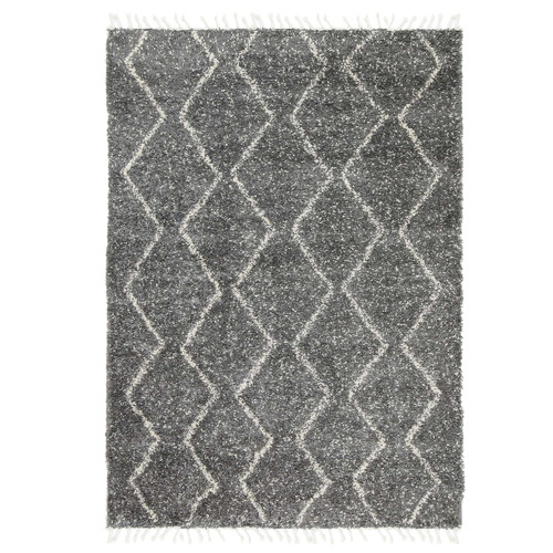 Lifestyle Floors Grey Fleck Tribal Kasper Rug