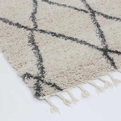 Lifestyle Floors Cream Diamond Tribal Kasper Rug