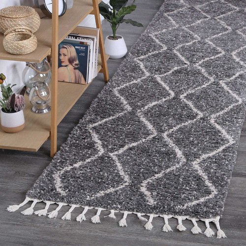 Lifestyle Floors Grey Fleck Tribal Kasper Runner