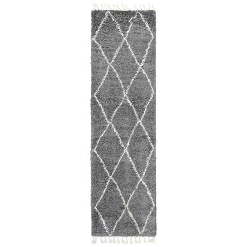 Lifestyle Floors Grey Diamond Tribal Kasper Runner
