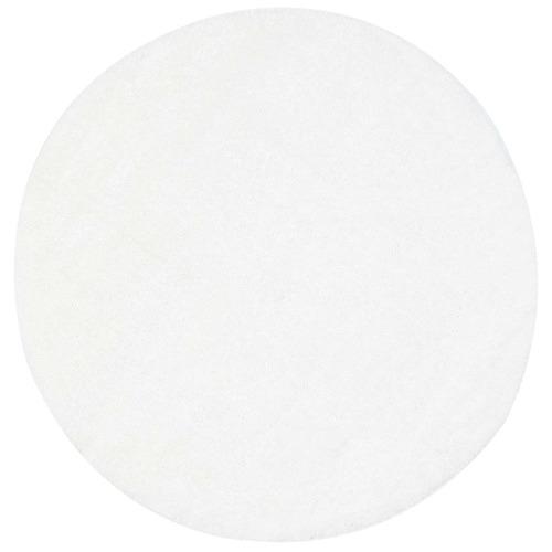 Lifestyle Floors White Eden Soft Shag Round Rug