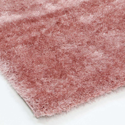 Lifestyle Floors Pink Eden Soft Shag Rug