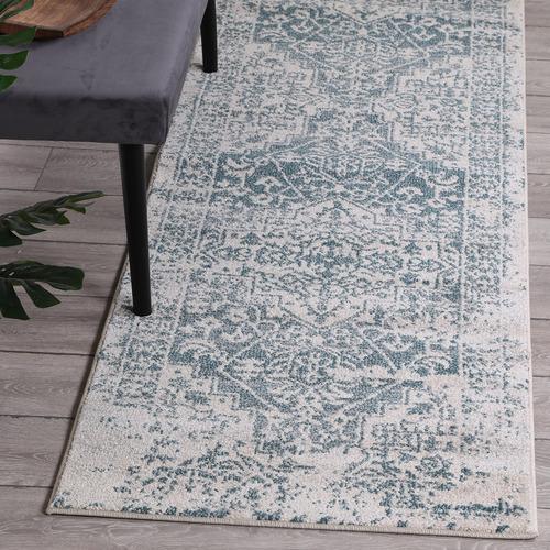 Lifestyle Floors Turquoise Modern Notes Rug