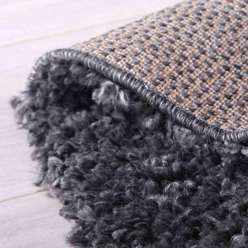 Charcoal Alpine Shag Rug