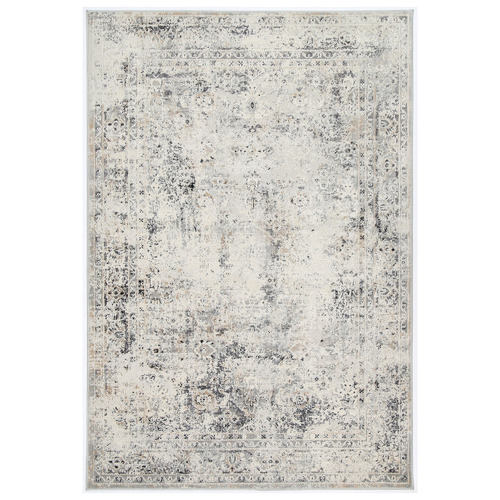 Greige Expressions Contemporary Rug