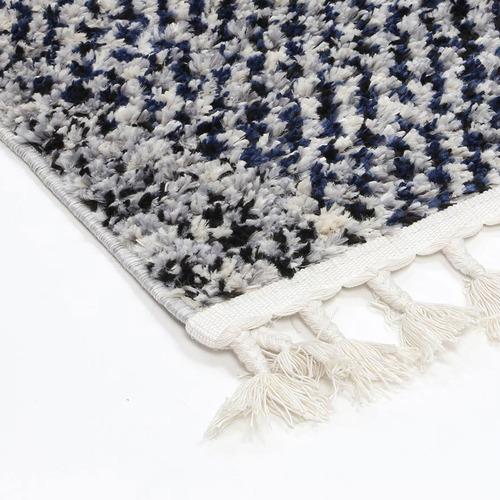 Lifestyle Floors Navy Myk Geometric Rug
