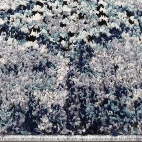 Lifestyle Floors Blue Myk Abstract Rug
