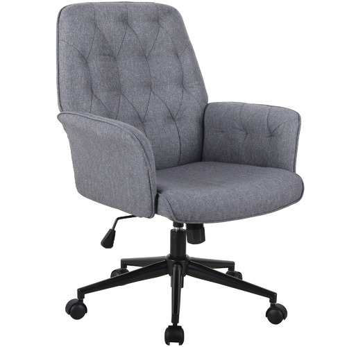 Pleasant Grey Zia Office Chair Home Remodeling Inspirations Cosmcuboardxyz