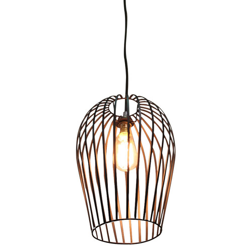Vintage Wire Cage Ceiling Light | Temple & Webster
