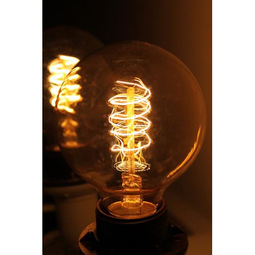 Fat Shack Vintage Vintage Round Spiral Thomas Edison Light Bulb Filament