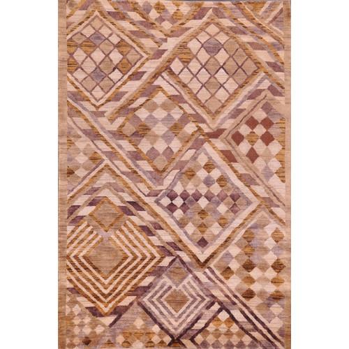 Trendy Rugs Hand Knotted Beige Karacabey Rug