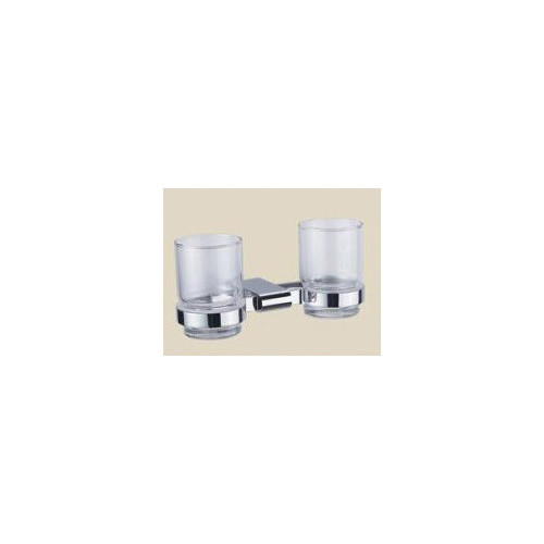 Wall Mounted Bathroom Double Tumbler  Temple & Webster