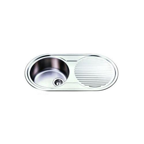 Round Bowl Inset Kitchen Sink And Drainer Smeg Sinks SMFM37C ...