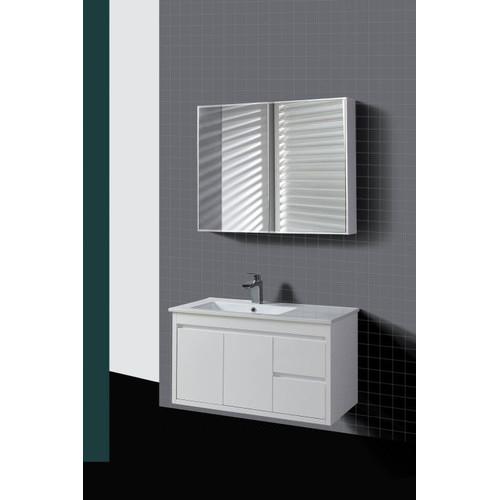 Elegant Ostar WD Series 90cm Shadow Line Wall Mounted Slim China Top Vanity