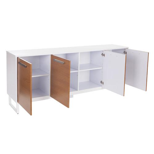 Corner Office Agile 4 Door Credenza