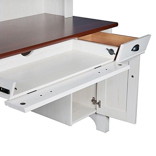 Corner Office Hawksbury Desk with Hutch