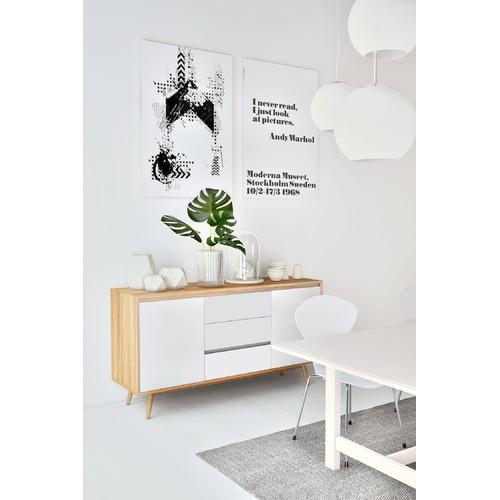 Corner Office Modesto Contemporary Buffet