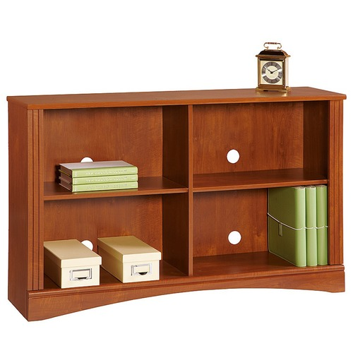 Corner Office Cubic Double Shelf Sofa Bookcase