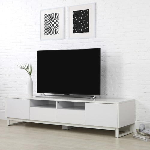 Corner Office White Fiore Tv Unit Reviews Temple Webster