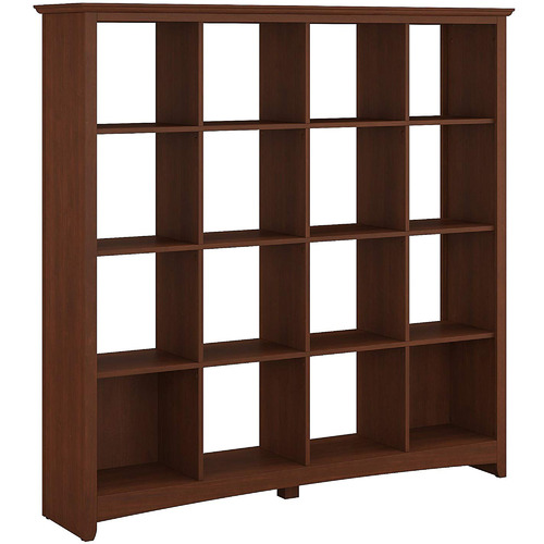 Corner Office Serene Cherry George 16 Cube Bookcase