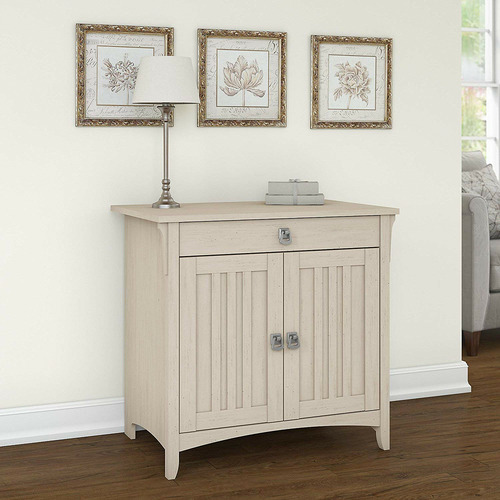 Corner Office Heaney Sideboard with Pull-Out Laptop Shelf