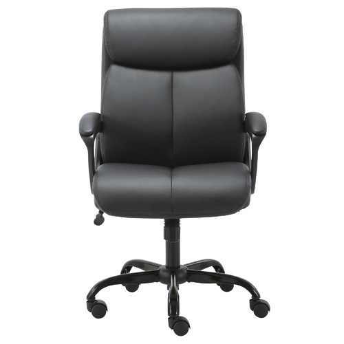 Puresoft Mid-Back Faux Leather Office Chair