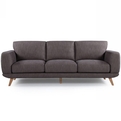 Southern Stylers Brown Atlanta 3 Seater Sofa
